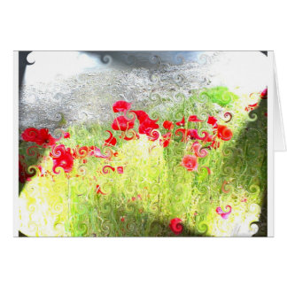 Wanaka flowers card