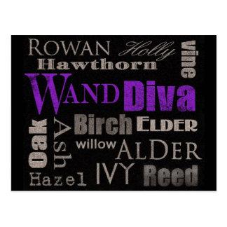 WAND Diva Postcard