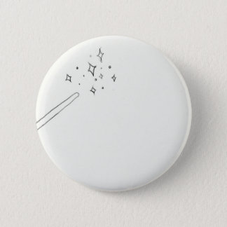 Wand Pinback Button