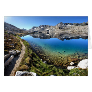 Wanda Lake 1 - John Muir Trail Card