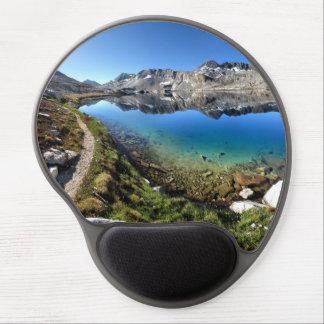 Wanda Lake 1 - John Muir Trail Gel Mouse Pads