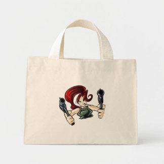 Wanda the Shooter Mini Tote Bag