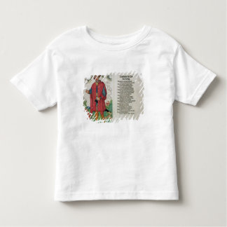 Wandalus, King of the 'Wenden', from 'The Origin o Toddler T-shirt