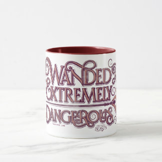 Wanded And Extremely Dangerous Graphic - Pink Mug