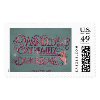 Wanded And Extremely Dangerous Graphic - Pink Postage
