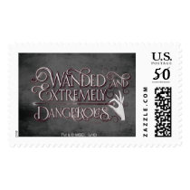 Wanded And Extremely Dangerous Graphic - White Postage
