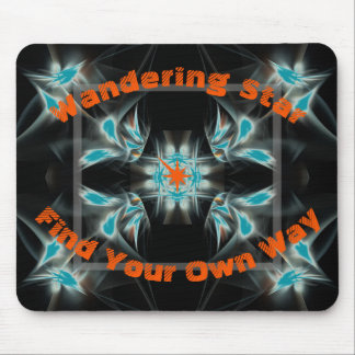Wandeering Star Mouse Pad