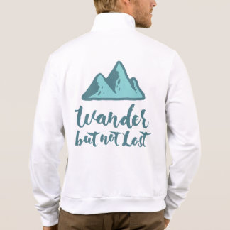 Wander but not Lost - Hand Lettering Typography Jackets