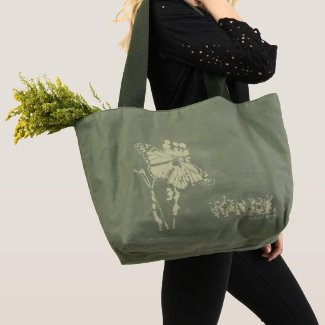 Wander Butterfly Tote Bag