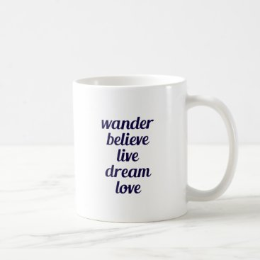 Beach Themed Wander Coffee Mug