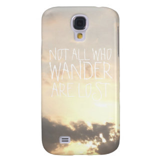 Wander Dawn dusk sky landscape clouds nature photo Samsung Galaxy S4 Case