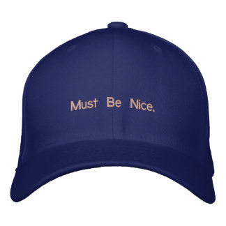 wander embroidered baseball hat