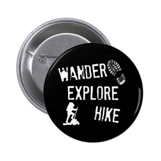 Wander, Explore, Hike Button
