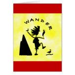 Wander In Black Cards