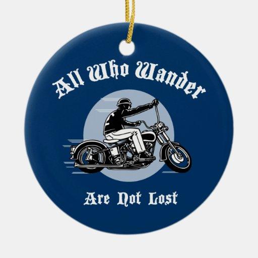 Wander Lost Ceramic Ornament