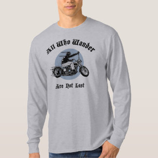 wander-lost-LTT T-Shirt