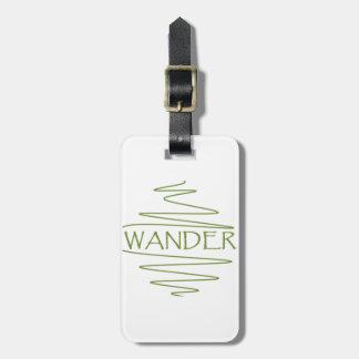 Wander Luggage Tag