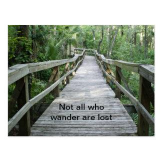 Wander Postcard