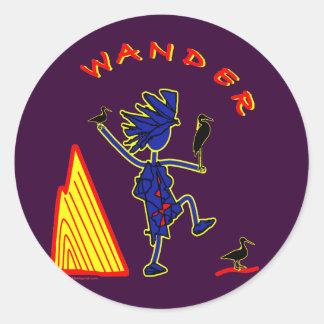 Wander Whimsy Sticker
