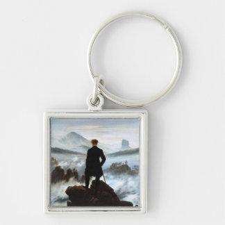 Wanderer above the Sea of Fog by Friedrich Keychain