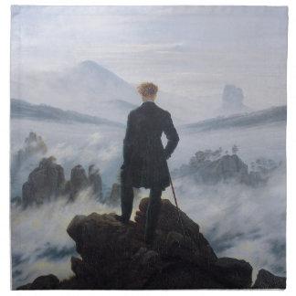Wanderer above the Sea of Fog Cloth Napkin