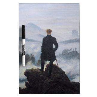 Wanderer above the Sea of Fog Dry-Erase Board