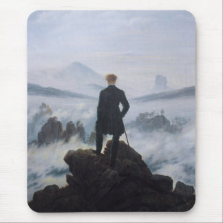 Wanderer above the Sea of Fog Mouse Pad