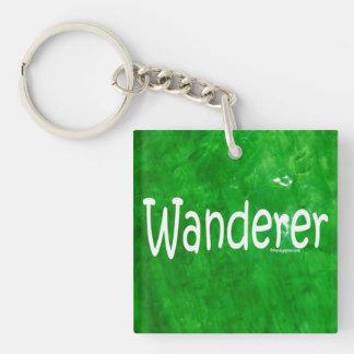 Wanderer Single-Sided Square Acrylic Keychain