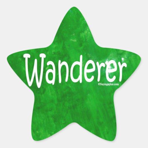 Wanderer Stickers