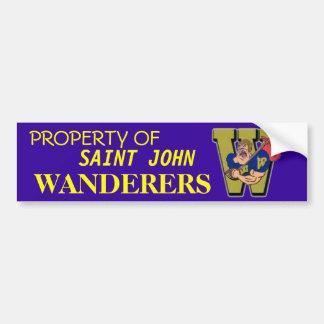 Wanderers Bumper Sticker