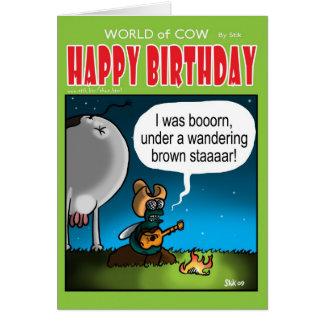 Wandering Brown Staaaar Card