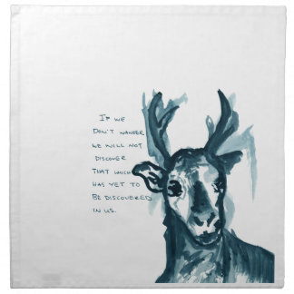 Wandering Deer Cloth Napkin