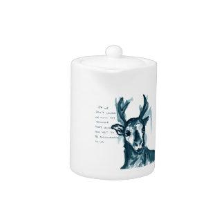 Wandering Deer Teapot