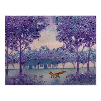 Wandering Fox Postcard