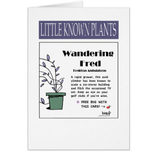 Wandering Fred - PS108 Greeting Card
