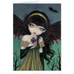 Wandering Gothic Vampire Fairy Card