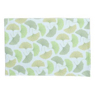Wandering Green Ginkgo Pillowcase