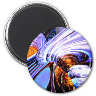Wandering Helix Abstract Magnet