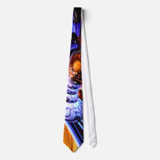 Wandering Helix Abstract Tie