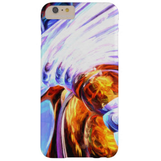 Wandering Helix Painted Abstract Barely There iPhone 6 Plus Case
