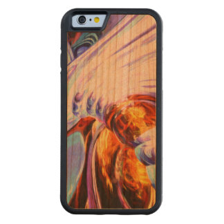 Wandering Helix Painted Abstract Carved® Cherry iPhone 6 Bumper