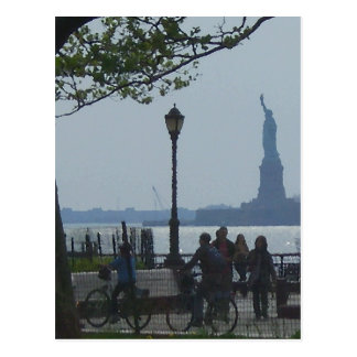 """Wandering Hudson River Park""  CricketDiane Postcard"