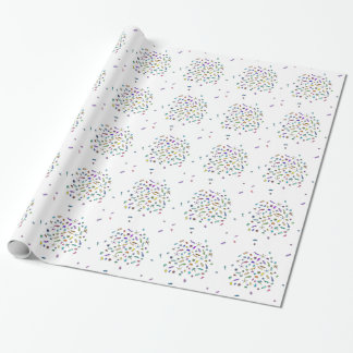 Wandering Mini Bugs and Mini Beasts Wrapping Paper