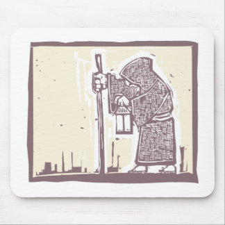 Wandering Monk Mouse Pad