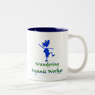 Wandering Organic Worker (WOOFER) Two-Tone Coffee Mug
