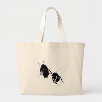 Wandering Roaches Canvas Tote Bag