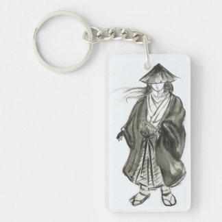 Wandering Samurai Ink Keychain
