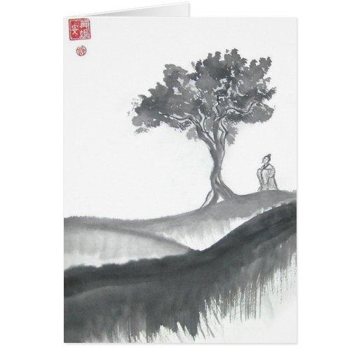 Wandering Taoist Monk Cards