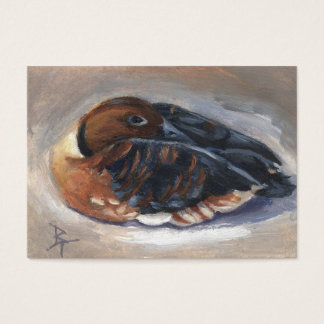 Wandering Whistling Duck aceo Art Card