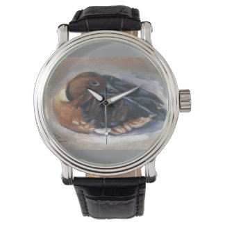 Wandering Whistling Duck Wrist Watches